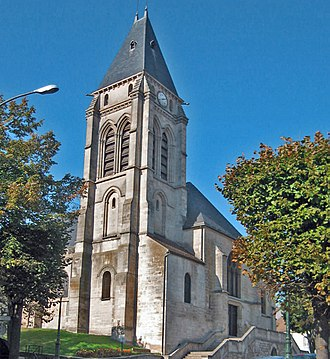 Thiais - The church Saint-Leu