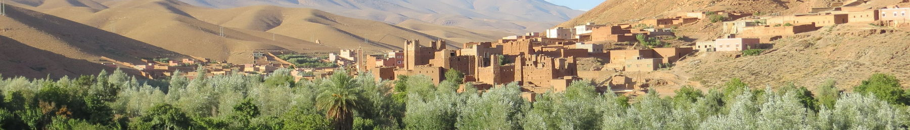 The village of Aït Arbi in Saharan Morocco
