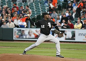 1999 Baltimore Orioles – Cuban national baseball team exhibition series - José Contreras pitching for the Chicago White Sox in 2008