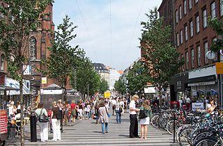 Ryesgade, Aarhus street in Aarhus Municipality, Denmark