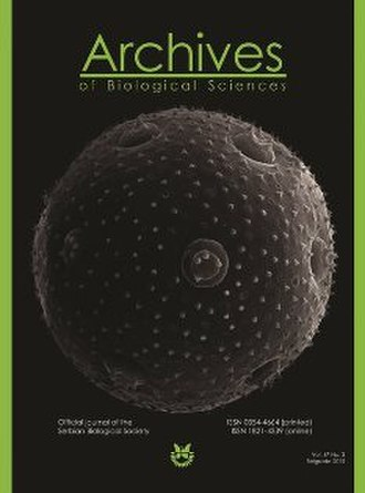 Archives of Biological Sciences - Image: ABN 1 3
