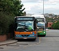 ACTION - BUS 148 - Wright 'Crusader' bodied Dennis Dart SLF and BUS 350 Custom Coaches (SA) 'CB60' bodied Scania L94UB (CNG).jpg