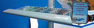 Sukhoi/HAL FGFA - APAR in the leading edge slats