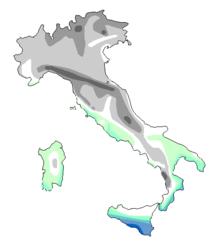 Italia Climatica Cartina.Clima Italiano Wikipedia