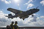 AN EA-6B lands approaches USS Dwight D. Eisenhower..jpg