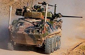 ASLAV - An ASLAV-25 in Afghanistan during 2011