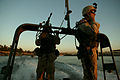 A Co 3-124 Infantry, Florida National Guard from Tallahassee, River Patrol.jpg