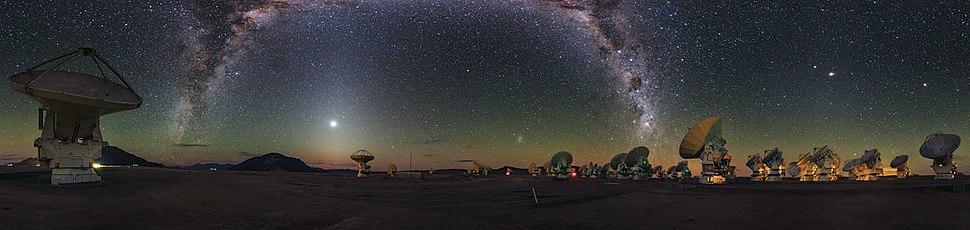 A Cosmic Rainbow in Ultra HD