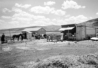 Beit Yosef, Israel - Farm on Moshav Beit Yosef, 1939