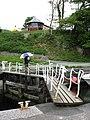 A Footbridge at Felinheli Marina - geograph.org.uk - 227513.jpg