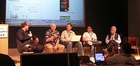 A Gillmor Gang Podcast. Taken during a live show at Gnomedex 6.0