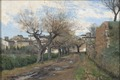 A Street in Fréjus (Axel Lindman) - Nationalmuseum - 18791.tif