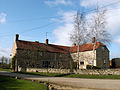 A farmhouse at Stow Green, nr Horbling Lincolnshire, England.JPG