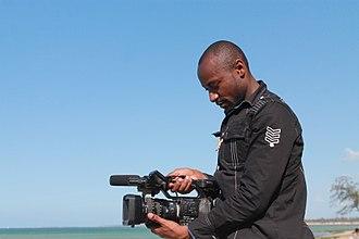 Cinema of Tanzania - A filmmaker working in Tanzania