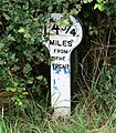 A mile marker along the Grantham Canal - geograph.org.uk - 944972.jpg