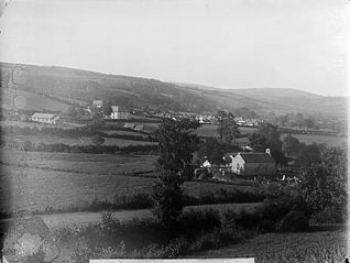 A view of Llangeitho from the Parsonage