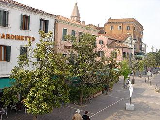 Lido di Venezia - Image: A view of Piazzale S.M. Elisabetta, on the Island of Lido in Venice, Italy
