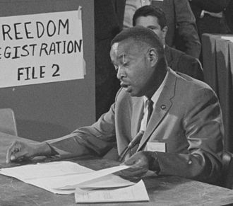 Aaron Henry - Henry at the 1964 Democratic National Convention