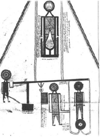Abatur - image of Abatur at the scales from Diwan Abatur