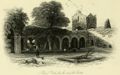Abbey of Boyle from the site of the Cloisters 1845.png
