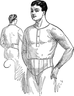 "Abdominal Supporters, style ""E."""
