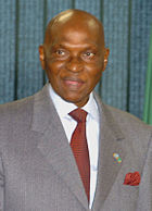 Abdoulaye Wade in 16-05-2007