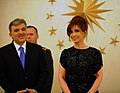 Abdullah Gul and Cristina Kirchner in Turkey 6.JPG