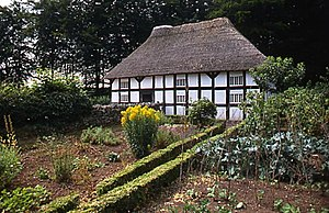 Banwy - Abernodwydd Farmhouse, moved to St Fagans National Museum of History