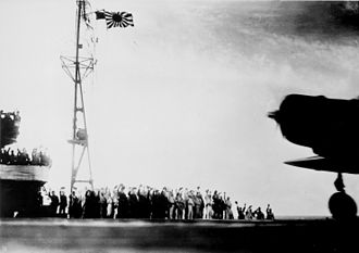 1st Air Fleet (Imperial Japanese Navy) - Planes taking off