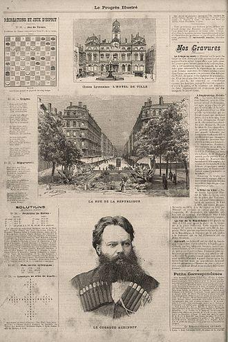 Sagallo - An article from Le Progrès illustré on Achinov's expedition
