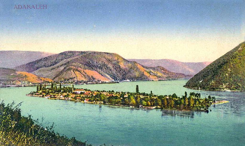 Ada Kaleh szigete 1909-ben[1]