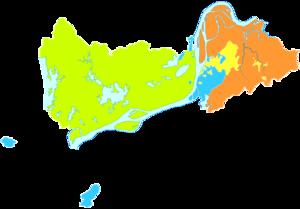 Tongling - Image: Administrative Division Tongling 2