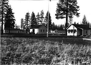 National Register of Historic Places listings in Lake County, Oregon - Image: Administrative Structure Oregon 1935