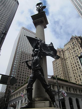 Douglas Tilden - Image: Admission Day Monument in San Francisco (2013) 2