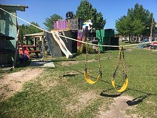 Adventure Playground at the Parish School