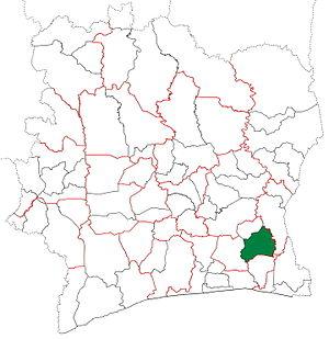 Adzopé Department - Adzopé Department from 2005 to 2008.