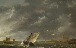 The Maas at Dordrecht in a Storm