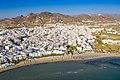 Aerial view of the neighborhood near Paralia Agios Georgios in Naxos, Greece.jpg