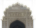 Agra Fort - views inside and outside (10).JPG
