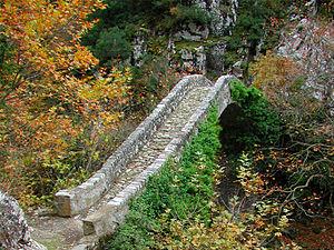 Agrafa - Bridge at Agrafa mountains