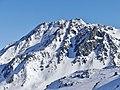 Aiguille de Péclet enneigée vue de Val Thorens (2019).JPG