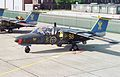 Air Tattoo International, RAF Boscombe Down - UK, June 13 1992 SwAF Saab Sk60 (1).jpg