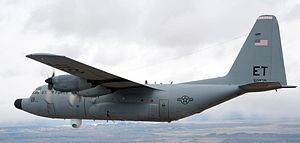 Advanced Tactical Laser - C-130 Hercules with Advanced Tactical Laser on board.