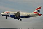 Airbus A319-100 British AW (BAW) G-DBCF - MSN 2466 (10277322253).jpg