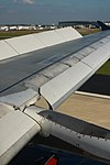 Airbus A320 Flaps Up on Landing - June 2015 (43753310411).jpg