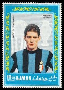 Ajman 1968-08-25 stamp - Angelo Domenghini.jpg