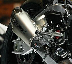 Akrapovič - Akrapovič exhaust closeup