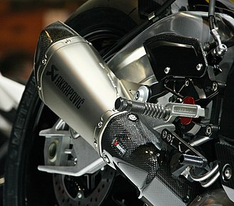Sport bike - Aftermarket upgrades using carbon fiber or other exotic materials are used on sport bikes to enhance the power-to-weight ratio and handling.