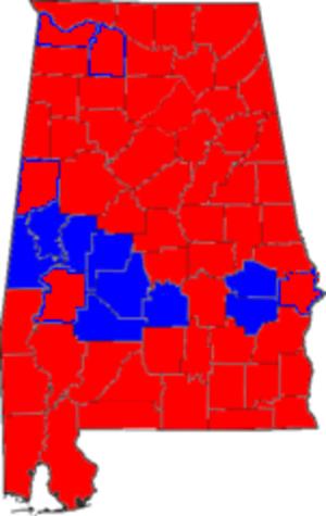 United States Senate election in Alabama, 2004 - Image: Alabama senate election 2004