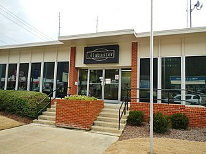 Alabaster, Alabama - Image: Alabaster, Alabama City Hall